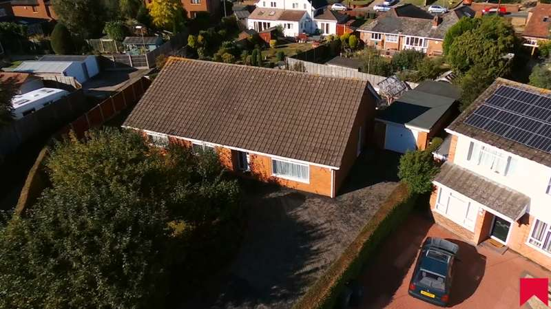 4 Bedrooms Detached Bungalow for sale in Southall Avenue, Northwick, Worcester, WR3