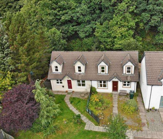 2 Bedrooms End Of Terrace House for sale in Cairnbaan Lea, Tinkers Lane, Cairnbaan PA31