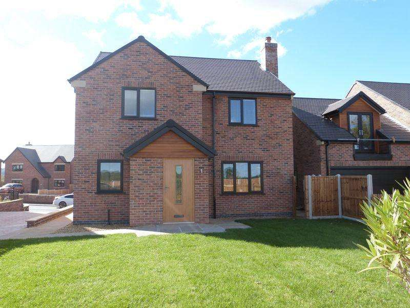 4 Bedrooms Detached House for sale in Buxton Road, Congleton, Cheshire, CW12 2DY