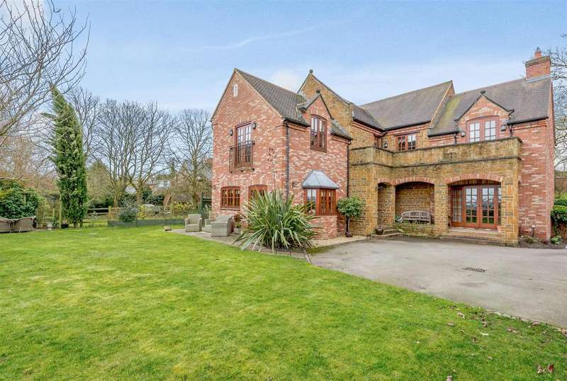 5 Bedrooms Detached House for sale in Flecknoe, Rugby, Warwickshire