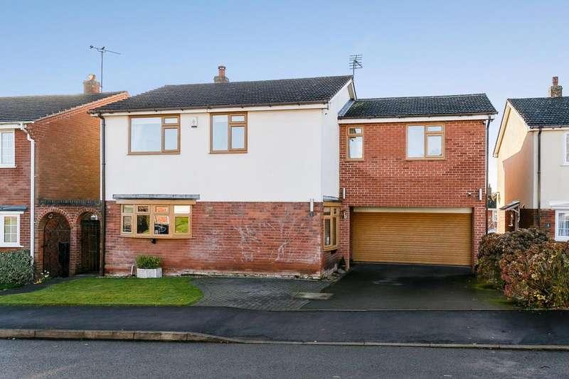 6 Bedrooms Detached House for sale in Vicarage Close, Blackfordby, DE11