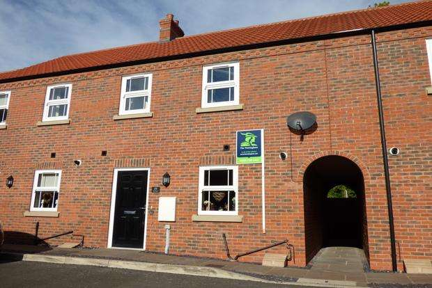 3 Bedrooms Terraced House for sale in Theodore West Way, Louth, LN11