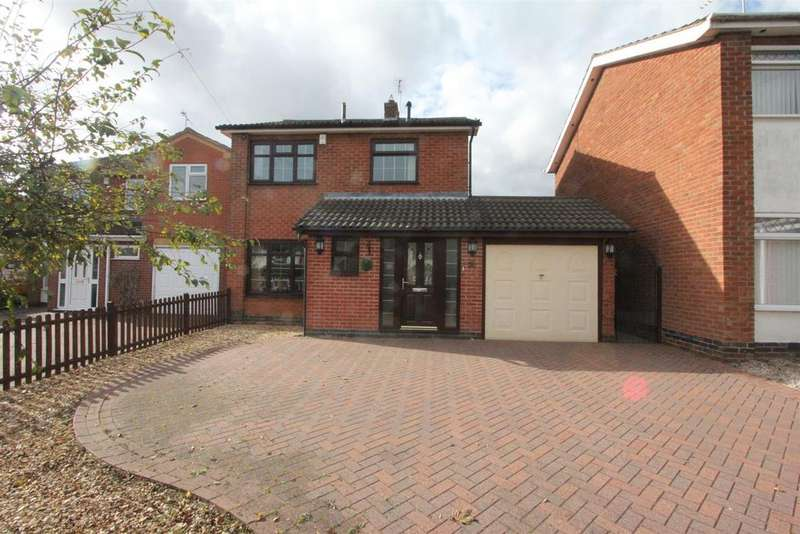 3 Bedrooms Detached House for sale in Lismore Drive, Hinckley
