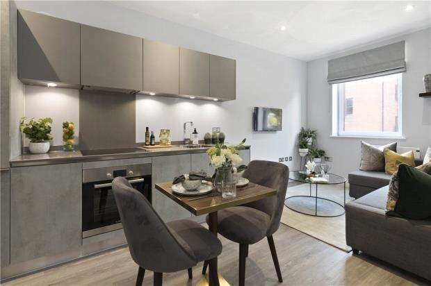 1 Bedroom Apartment Flat for sale in Abbey House, Grenville Place, Bracknell