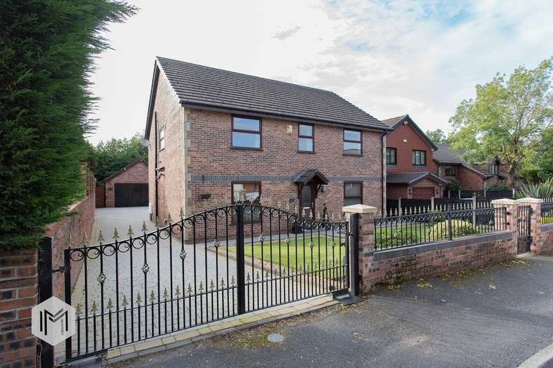 4 Bedrooms Detached House for sale in Walshaw Lane, Bury, BL8