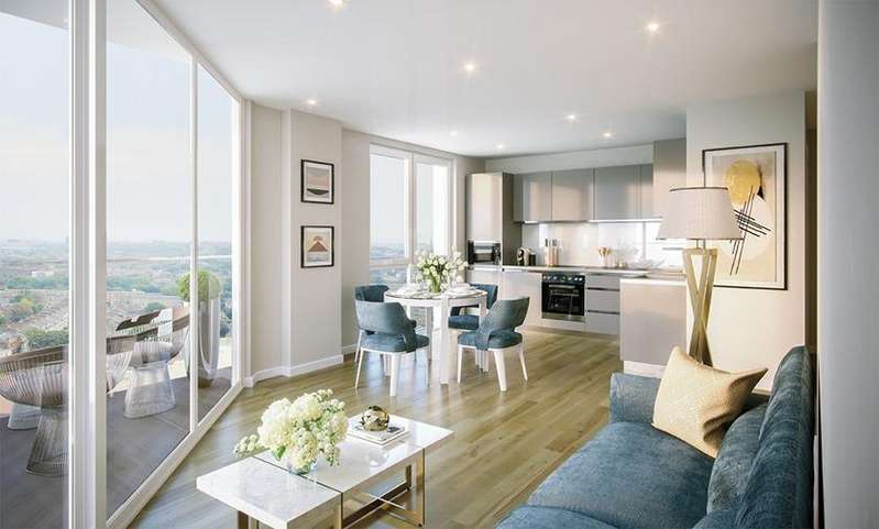 2 Bedrooms Apartment Flat for sale in Brook House, Brixton Centric, SW2