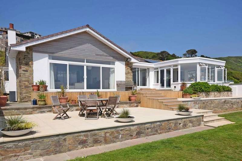 5 Bedrooms Detached Bungalow for sale in Downderry, Cornwall, PL11