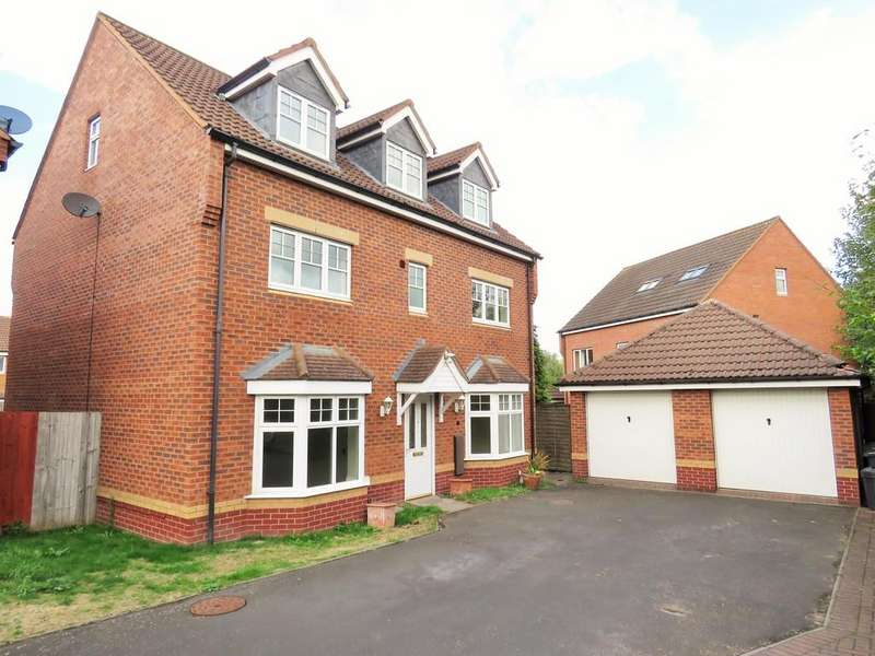 5 Bedrooms Detached House for sale in Wagstaff Way, Marston Green