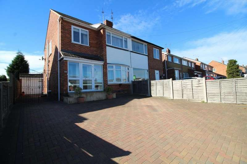 3 Bedrooms Semi Detached House for sale in Anson Road, Shepshed