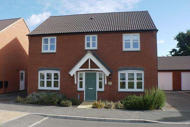 4 Bedrooms Detached House for sale in Bluebell Green, Desford, Leicester, LE9
