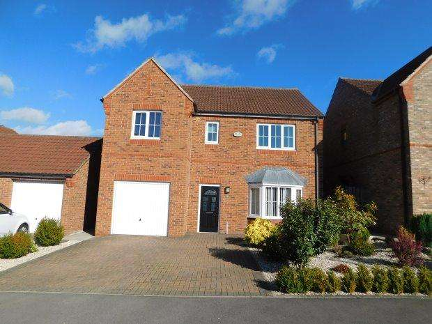 4 Bedrooms Detached House for sale in WEST PARK, SHILDON, BISHOP AUCKLAND