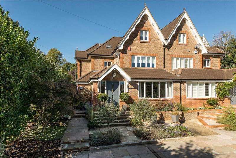 5 Bedrooms Semi Detached House for sale in Queensmere Road, Wimbledon, SW19