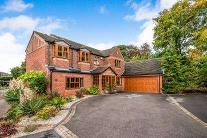 4 Bedrooms Detached House for sale in Hatherton Croft, Cannock, Staffordshire