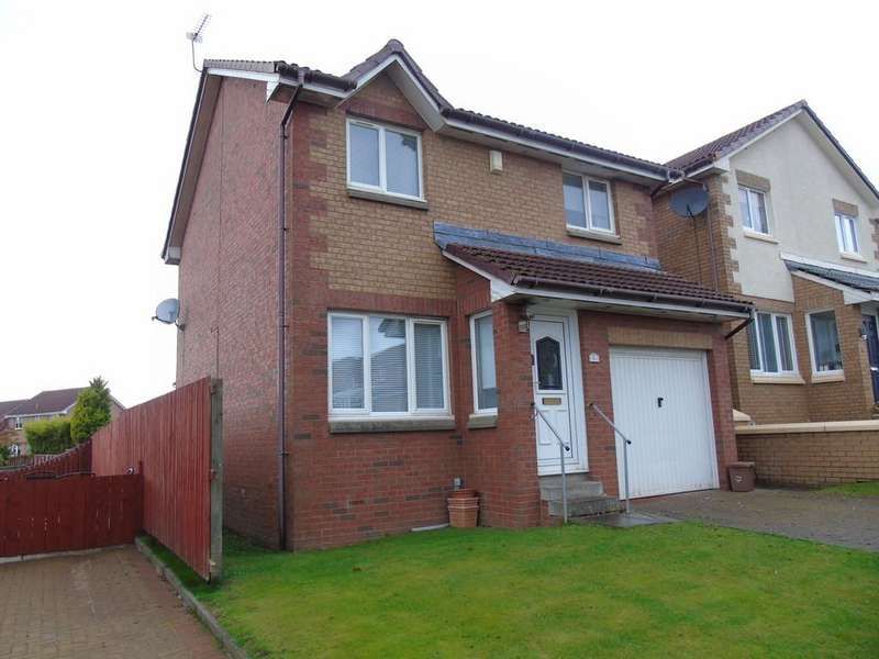 3 Bedrooms Detached House for sale in Deanstone Walk, Carnbroe, Coatbridge, North Lanarkshire, ML6