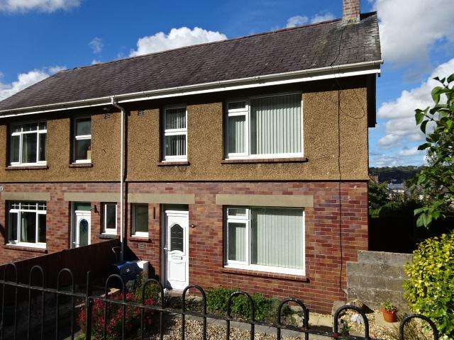 3 Bedrooms Semi Detached House for sale in MAES ISALAW, BANGOR LL57
