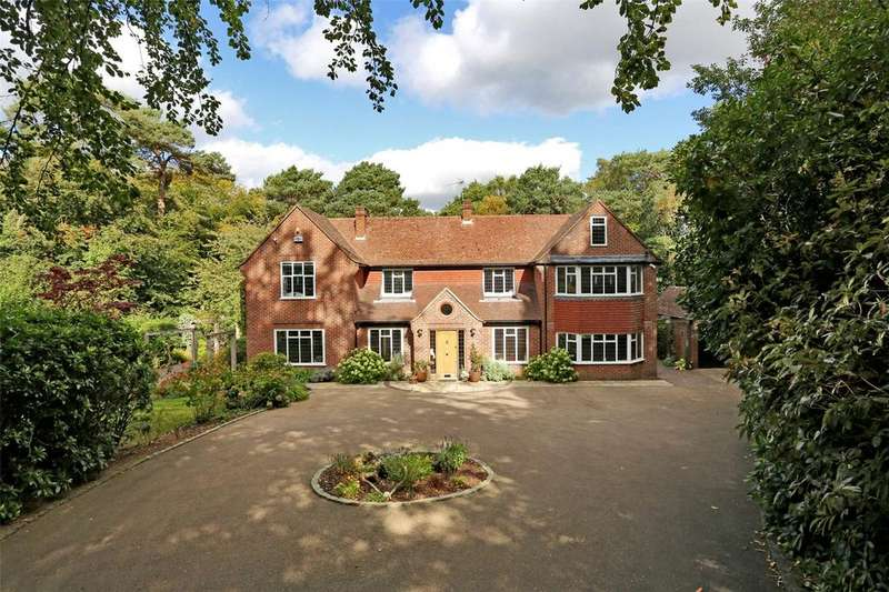 5 Bedrooms Detached House for sale in Chart Lane, Brasted Chart, Westerham, Kent, TN16