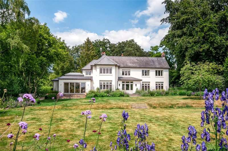 5 Bedrooms Detached House for sale in Main Road, Itchen Abbas, Winchester, Hampshire, SO21