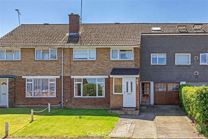 3 Bedrooms Terraced House for sale in Garrard Way, Wheathampstead, Hertfordshire