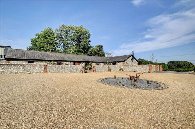 3 Bedrooms Barn Conversion Character Property for sale in Hinton Manor Lane, Catherington, Waterlooville, Hampshire