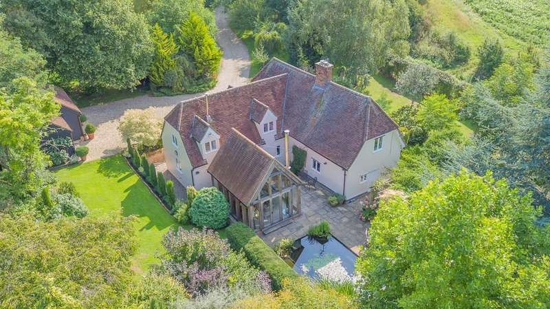4 Bedrooms Detached House for sale in Braughing, Herts