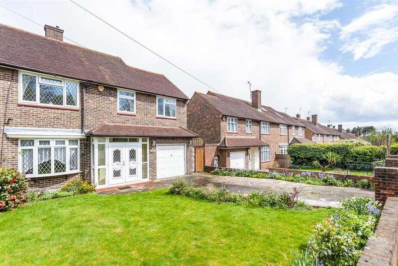 4 Bedrooms Semi Detached House for sale in Furzehill Road, Borehamwood