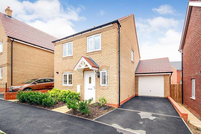 4 Bedrooms Detached House for sale in Harvest Rise, Shefford, SG17