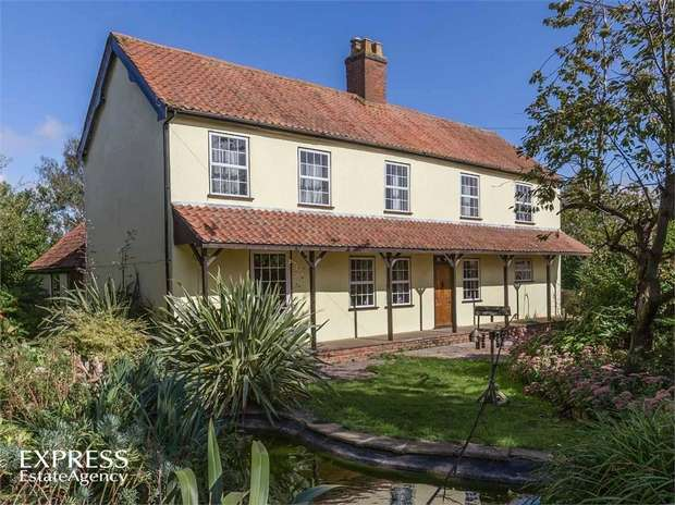 4 Bedrooms Detached House for sale in Cold Harbour, Cold Harbour, Grantham, Lincolnshire