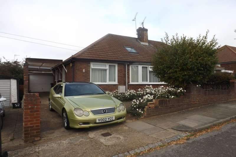 2 Bedrooms Semi Detached Bungalow for sale in Canberra Gardens, Luton, LU3