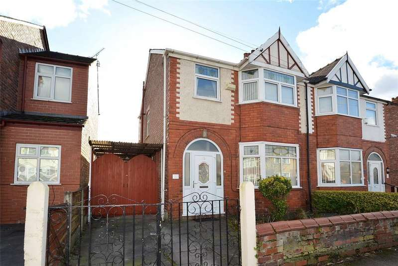 3 Bedrooms Semi Detached House for sale in Moss Park Road, STRETFORD, Manchester, M32
