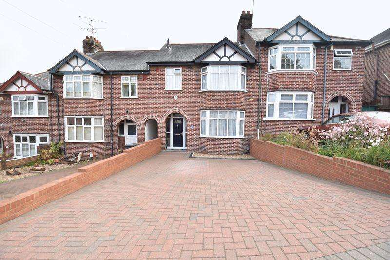 3 Bedrooms Terraced House for sale in Strathmore Avenue, Luton