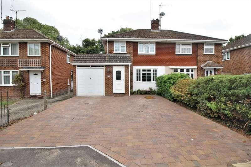 3 Bedrooms Semi Detached House for sale in Overdown Road, Tilehurst, READING, Berkshire