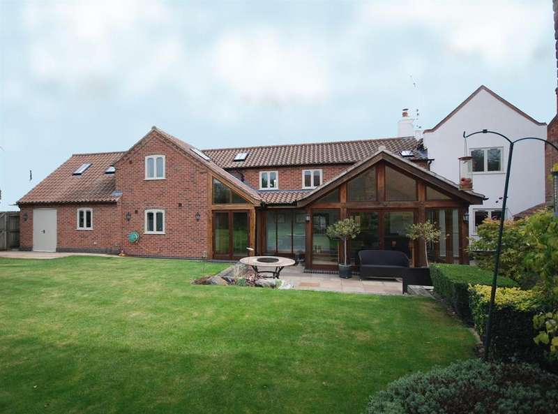 4 Bedrooms Detached House for sale in Main Street, Hickling, Melton Mowbray