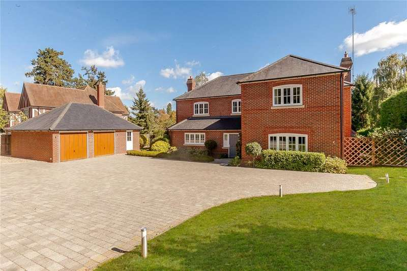 5 Bedrooms Detached House for sale in Crowsley Road, Shiplake, Henley-on-Thames, Oxfordshire, RG9