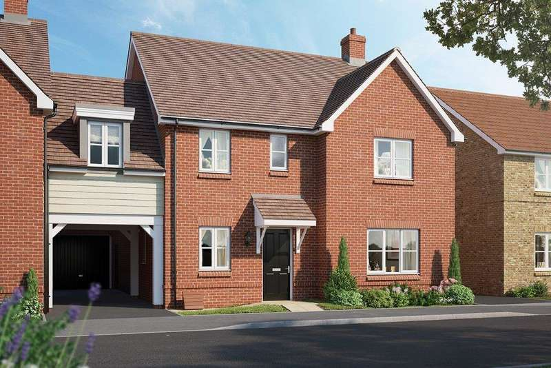 4 Bedrooms Link Detached House for sale in The Oakford V2, Chapel End Road, Houghton Conquest, MK45