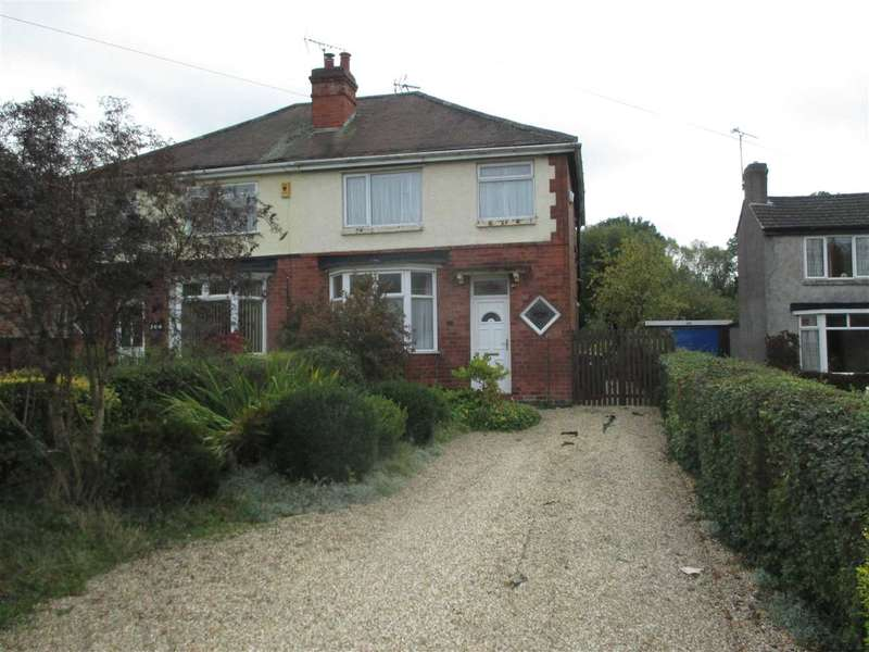 3 Bedrooms Semi Detached House for sale in Nottingham Road, Selston, Nottingham