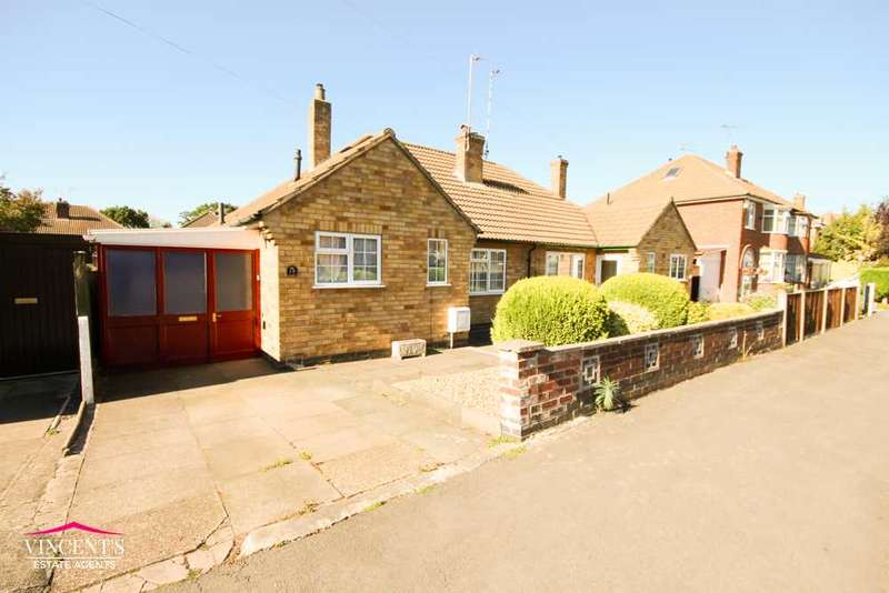 2 Bedrooms Bungalow for sale in Crowhurst Drive, Leicester
