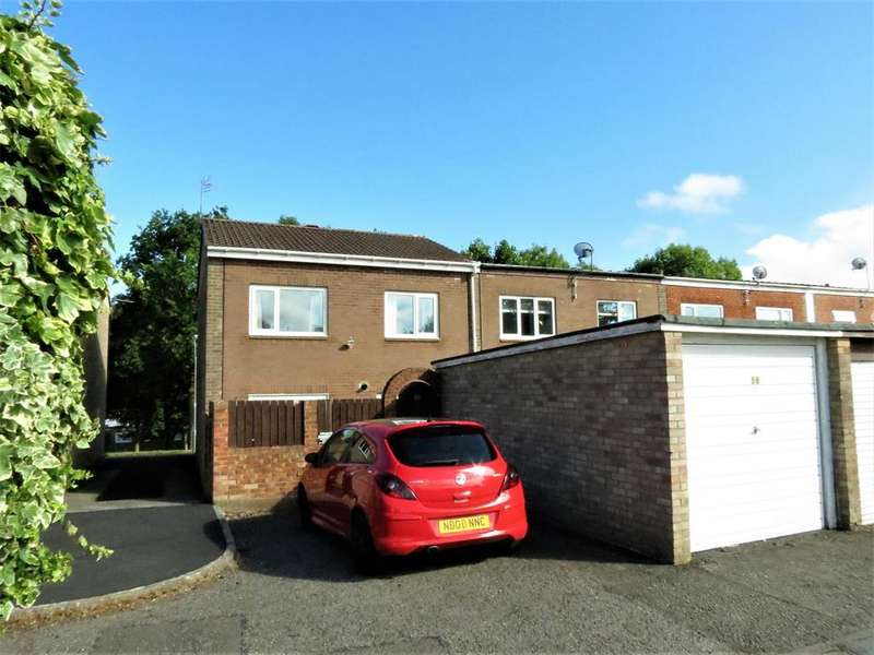 3 Bedrooms End Of Terrace House for sale in Hatfield Place, Peterlee, Durham, SR8 5SS