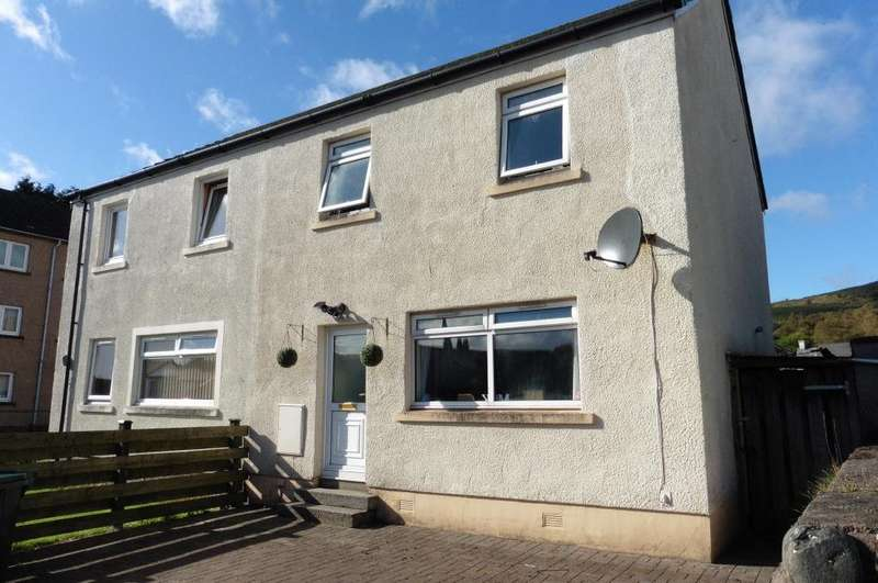 3 Bedrooms Semi Detached House for sale in 179 Edward Street, Dunoon, PA23 7PJ