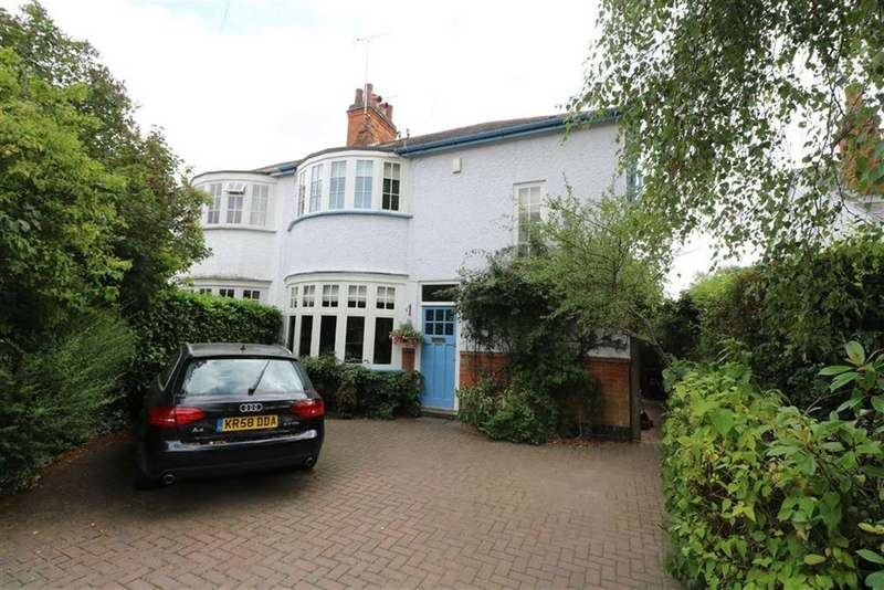 3 Bedrooms Semi Detached House for sale in Knighton Church Road, South Knighton, Leicester