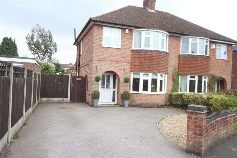 3 Bedrooms Semi Detached House for sale in Elizabeth Road, Hinckley