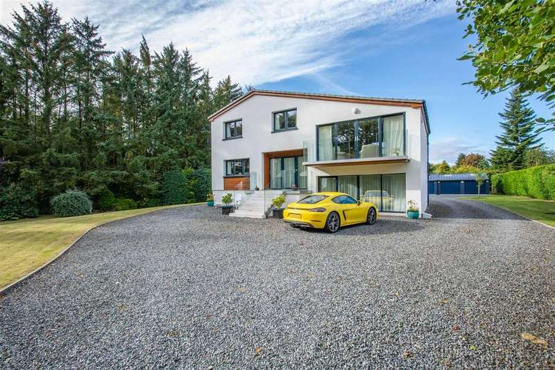 5 Bedrooms Detached House for sale in Brucefield Road, Blairgowrie, Perthshire