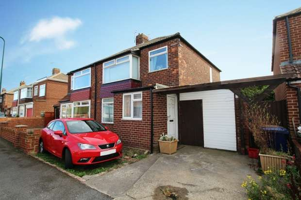 3 Bedrooms Semi Detached House for sale in Highfield Road, Redcar, Cleveland, TS11 6EG