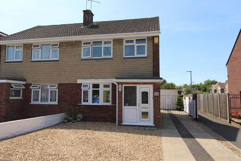 3 Bedrooms Semi Detached House for sale in Charnwood Road, Whitchurch, Bristol, BS14 0JR