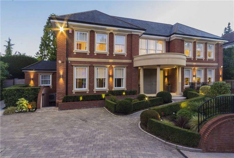 6 Bedrooms Detached House for sale in Coombe Ridings, Coombe Hill, KT2