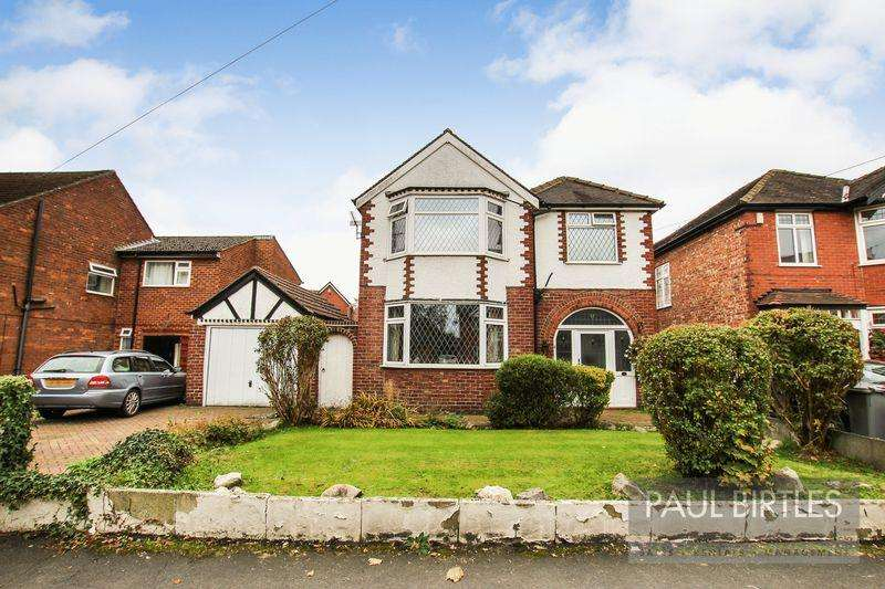 3 Bedrooms Detached House for sale in Western Road, Flixton, Manchester