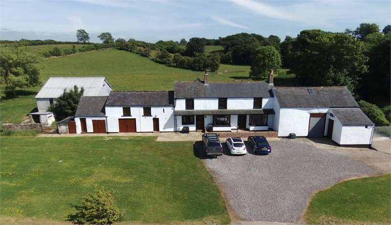 5 Bedrooms Detached House for sale in CA7 3NX Ghyll Farm, Westnewton, Wigton, Cumbria