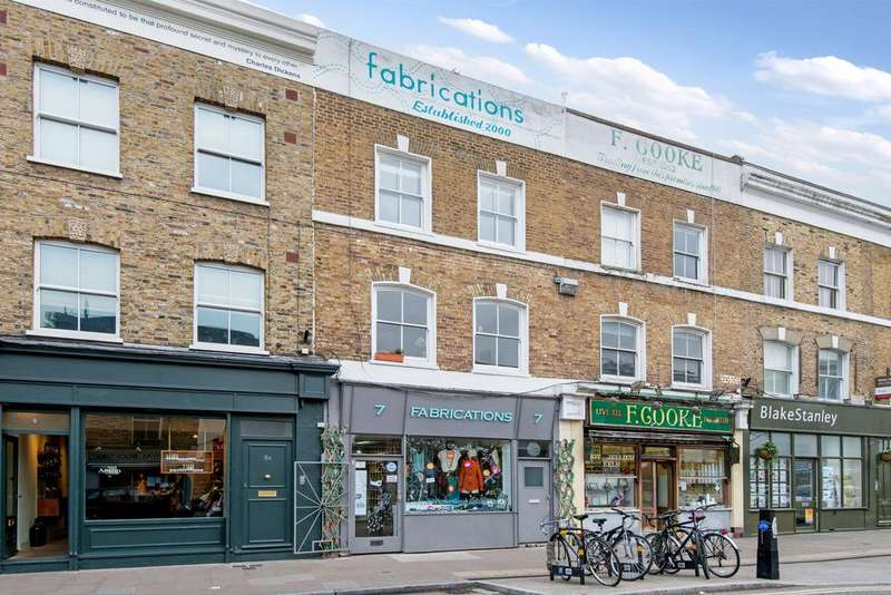 3 Bedrooms Maisonette Flat for sale in Broadway Market, Hackney, London E8