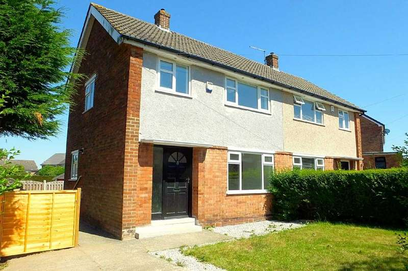 3 Bedrooms Semi Detached House for sale in Blackstock Close, Sheffield, S14 1AE