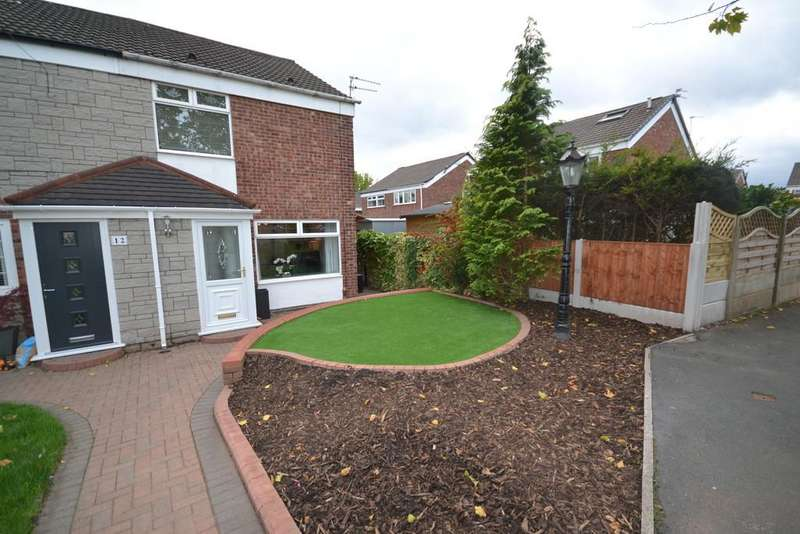 4 Bedrooms Semi Detached House for sale in Winchester Avenue, Astley