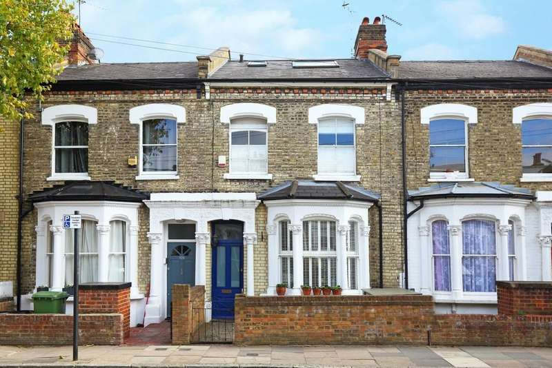 4 Bedrooms Terraced House for sale in Thorpedale Road N4 3BD